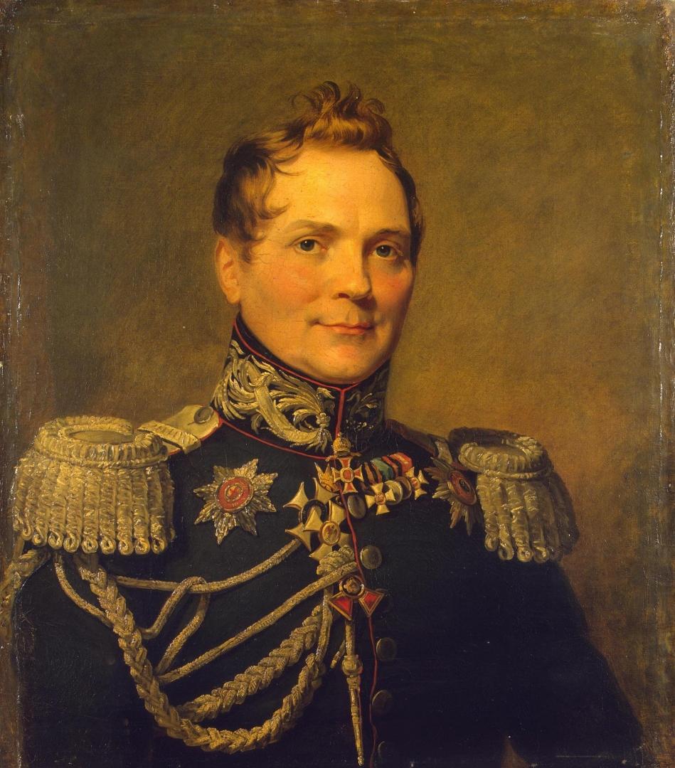 Джордж Доу. Генерал от инфантерии граф Дмитрий Дмитриевич Курута (1769—1833 гг.)