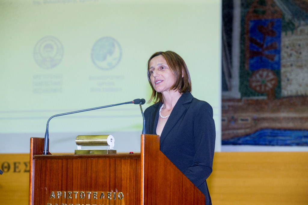 Tatyana Triandafillidi, a Head of the department of Russian language and culture at the Aristotle  University of Thessaloniki, PhD in Philology