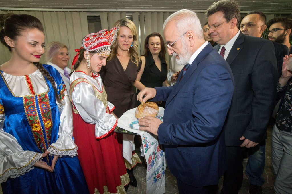Russian community of Thessaloniki welcomes guests