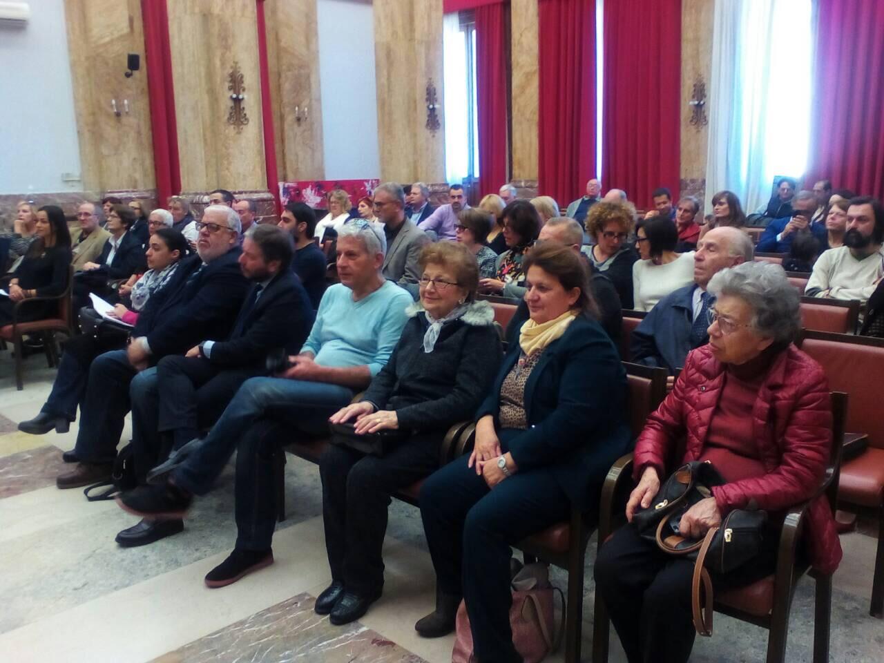 Участники Международной конференции «Геноцид народов Ближнего Востока» в мэрии г. Мессина