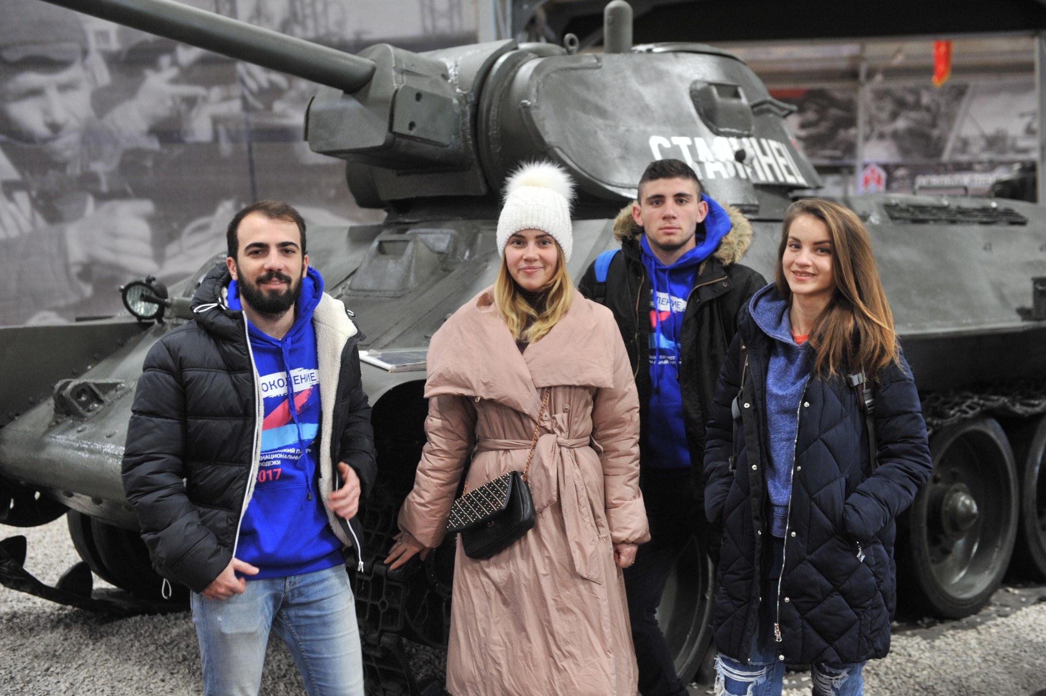 Поездка в парк «Патриот» — военно-патриотический парк культуры и отдыха Вооруженных Сил Российской Федерации