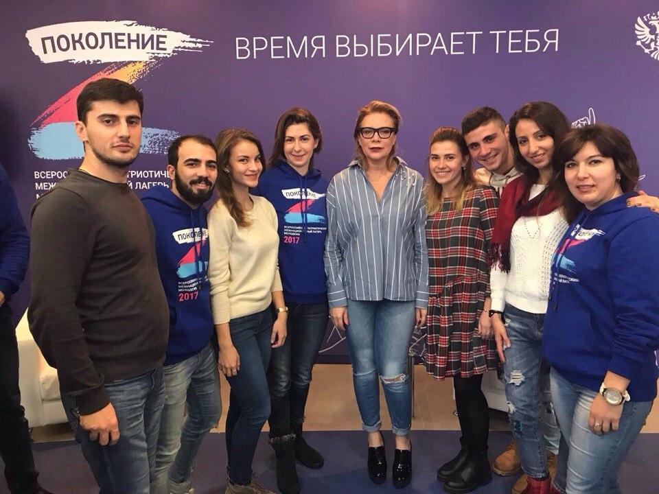 Актриса, режиссер, продюсер, автор различных телепередач Лина Арифулина