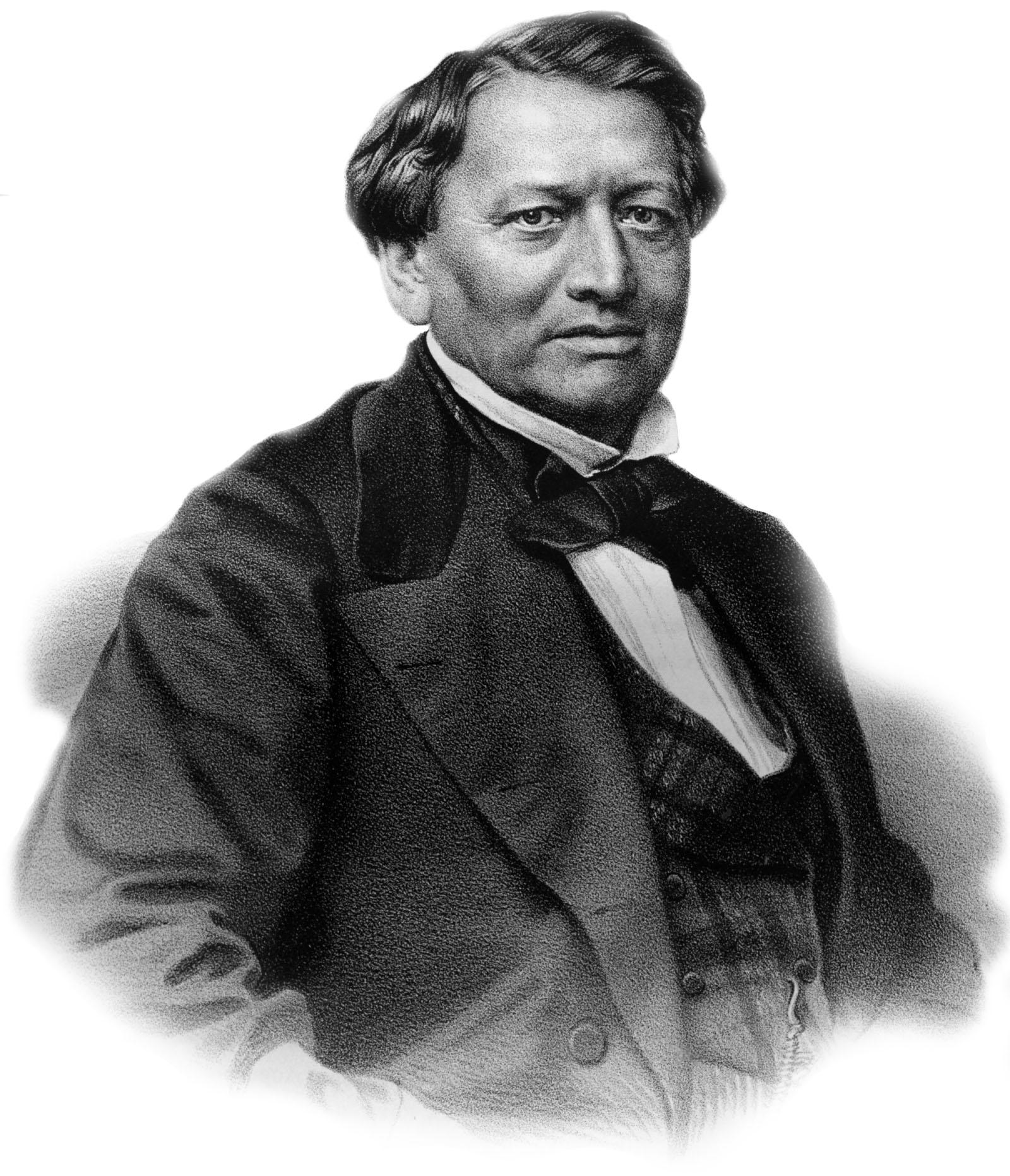 Осип Петров. Гравюра П.Ф. Бореля (1869 г.) с фотографии Щетинина