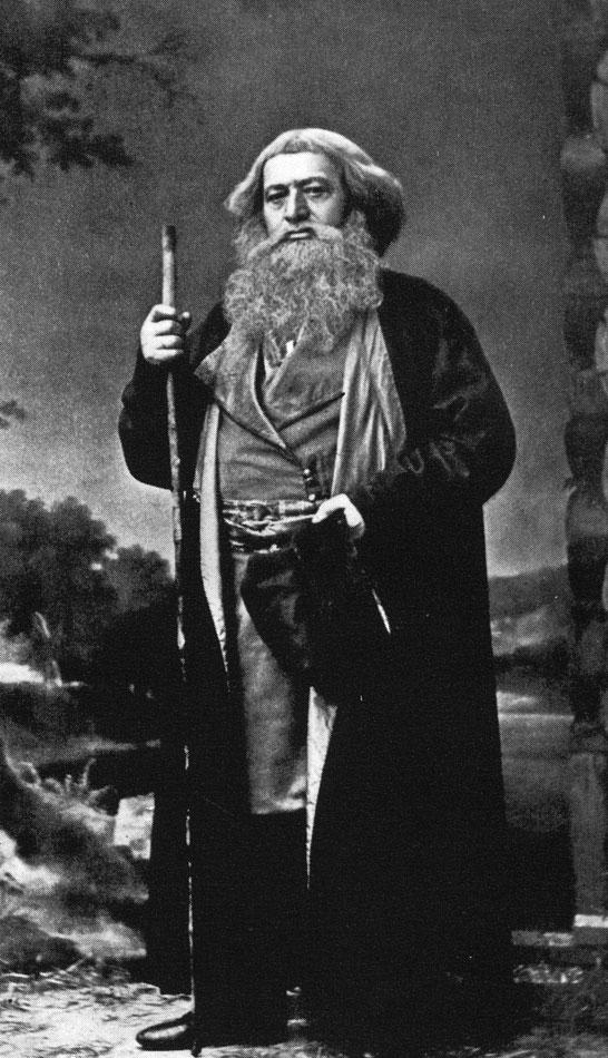 Осип Афанасьевич Петров, первый исполнитель роли Сусанина. Петербург, 1870-е годы