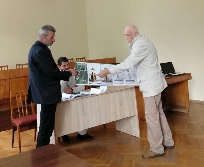 Балаклава. Обсуждение проекта восстановления памятника Балаклавскому греческому пехотному батальону
