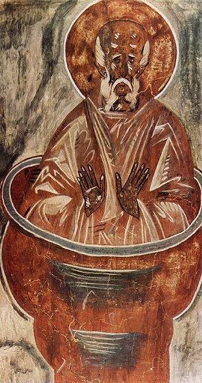 Столпник. Церковь Спаса Преображения на Ильине улице, Великий Новгород