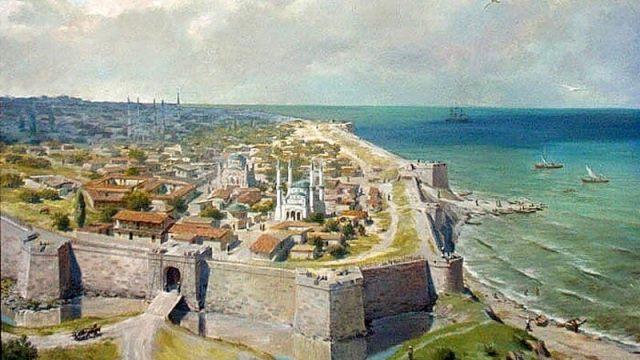 Анапская крепость до взятия ее силами Черноморского флота и десанта в 1828 году