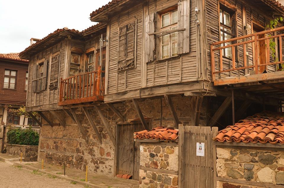 Старые кварталы Сизополя (болг. Созопол)