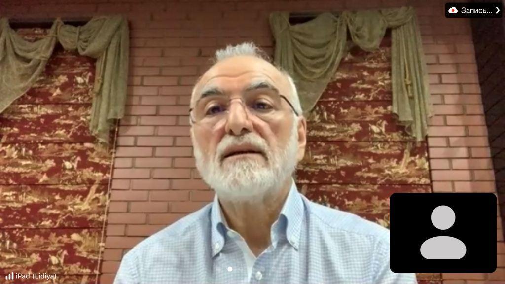 Президент ФНКА греков России Иван Игнатьевич Саввиди