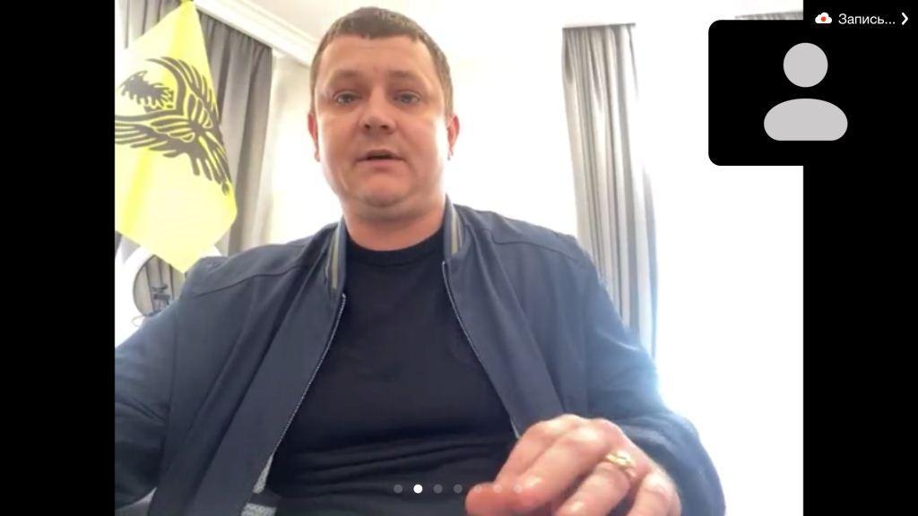 член Совета молодежи ФНКА греков России 2015—2020 гг. Сергей Марусин